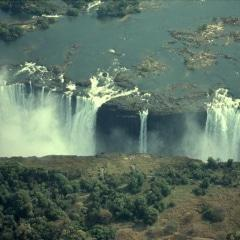 Photo of the Victoria Falls