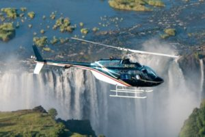 helicopter activity victoria falls