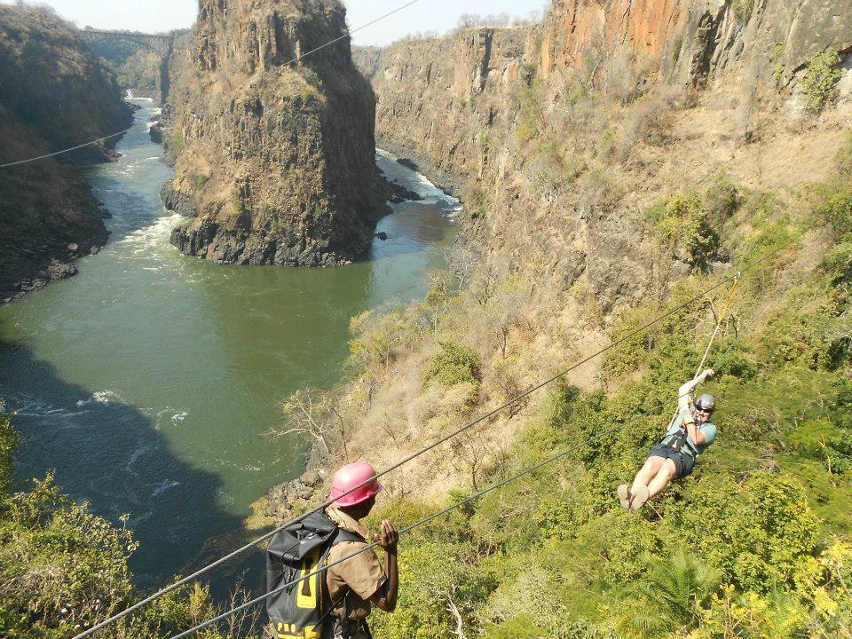 Canopy Tour In The Victoria Falls National Park Vic Falls