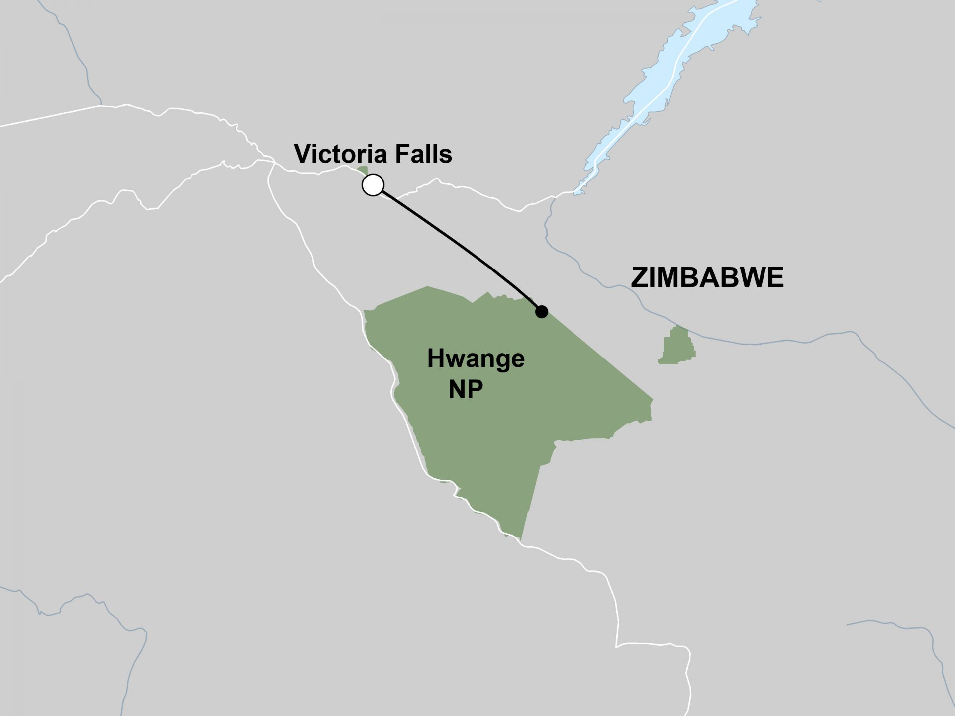 Victoria Falls and Hwange Tour